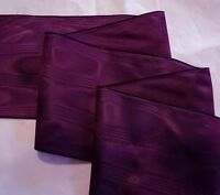 """2"""" RAYON MOIRE' RIBBON - MADE IN GERMANY - MAGENTA"""