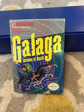 Galaga Demons of Death (Nintendo NES) Complete in Box 1988