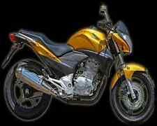 Honda Cb 300R 10 A4 Metal Sign Motorbike Vintage Aged