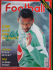 France Football N°2390 (28 janv 1992) L'OM -Cantona - Roux - Ghana-Côte d'Ivoire