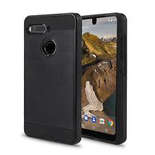 Essential Phone PH-1 Case, [Scratch Proof] w.Screen Protector(VGC Black + SP)