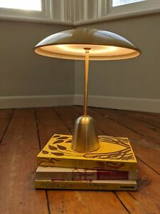 Design Project by John Lewis No.053 LED Table Lamp, Satin Brass
