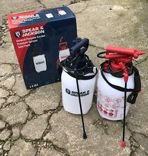 Spear & Jackson General Purpose Garden 5 Litre Pressure Sprayer Twin Pack