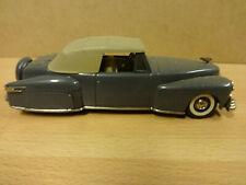 MODEL CAR COLLECTOR'S CLASSICS 1:43 / LINCOLN CONTINENTAL '46