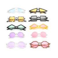 2018 Vintage Rhombus Frame Sunglasses Polygon Fashion Shades Women Retro Glasses