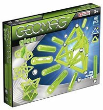 Geomag Glow 40 Piece Magnetic Construction Set 03304