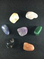 Chakras/Energy stones, 7 Cristaux différents pour Harmonie - Pocket Set 3