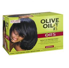 Ors Estimulador de raíces orgánico aceite de oliva relajador de cabello sin lejía - (normal)