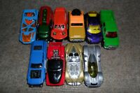 Job lot of 11 Loose Hot wheels Vehicles Very Good Condition
