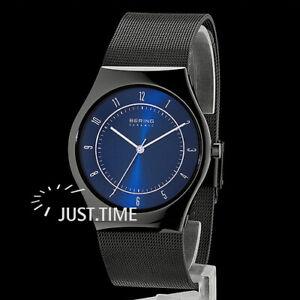 BERING Herren-Armbanduhr Keramik/Saphirglas 32039-440