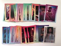 Rock Cards Music Trading Cards base set single cards by Brockum 1991