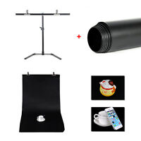 New Photography 68*68cm Support  Stand+ PVC Studio Backdrop Background + Clamp