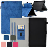 For Amazon Fire 7 / HD 8 / HD 10 Tablet Case Smart Protective Wallet Flip Cover