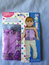 """Springfield Doll Clothes -Bohemian Top & Pants -fits American Girl or 18"""" doll"""