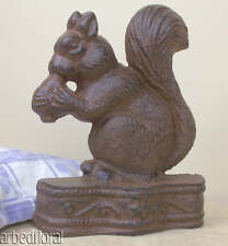 Cast Iron Squirrel Doorwedge Door Wedge Stop Paperweight 1034