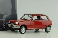 Renault 5 R5 rot 1972 Modellauto Diecast 1:18 Norev 185152