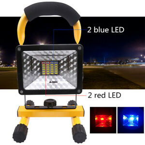 Rechargeable Cordless Portable Work Site Flood Light Fishing Camping Emergency