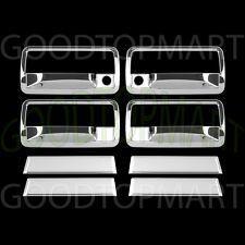 For Chevy S10 & BLAZER 1998-2005 2006 Chrome 4 Door Handle Covers WITH P Keyhole