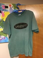 Vintage Londonderry Nh New Hampshire T-shirt Large Olive Green Est. 1722 Usa