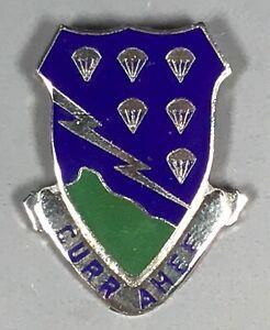US Army 506th Parachute Infantry Regiment DUI DI Unit Crest CB M-21