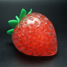 Strawberry Squishy Anti Stress Ball Phone Strap Stretchy Squeeze Fun Kid Toy