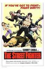 Street Fighter 1974 Poster 01 A4 10x8 impresión fotográfica