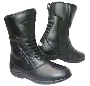 MTECH Motorcycle Boots Motorbike Leather Touring Boots Waterproof