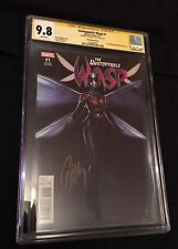 RARE! Unstoppable Wasp #1 Signed Evangeline Lilly, CGC 9.8 Marvel Ant-Man Movie