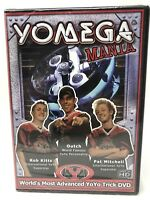 Yomega Mania DVD- 150 Tricks DVD  Brand New - YoYo  - Kitts - Ouch - Mitchell