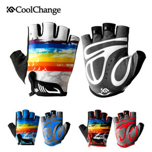 Kids Half Finger Gloves Unisex Children Riding Cycling Bike Mitts Gloves Nonslip