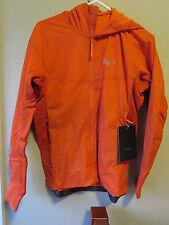 Mens New Arcteryx Procline Hybrid Hoody Jacket Size Small Color Phoenix