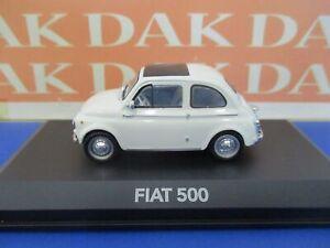 Die cast 1/43 Modellino Auto Fiat 500 1961 bianca