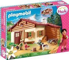 Playmobil Heidi Peter Clara Fräulein Rottenmeier Almhütte Ziegenstall Auswählen