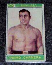 Primo Carnera 1967 Panini Boxing card Campioni Dello Sport