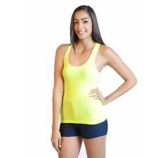 Magliette da donna in cotone giallo