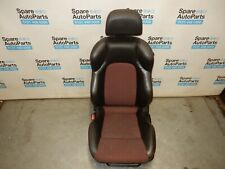 HYUNDAI COUPE S, 2005-2007 GK FACELIFT, N/S PASSENGER PART LEATHER SEAT