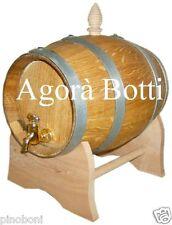 Botti/botte in ROVERE da 2 lt, legno nuovo di spacco!!