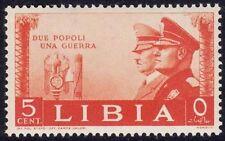LIBIA 1941 - HITLER E MUSSOLINI - C. 5 - MNH
