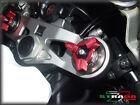 Strada 7 RACING 19mm fourche précharge Ajusteur TRIUMPH THRUXTON 04-08 rouge
