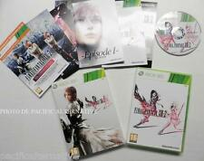 Coffret collector jeu FINAL FANTASY XIII-2 sur xbox 360 game spiel FF 13-2