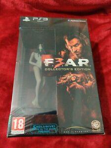 FEAR 3 PS3 COLLECTORS EDITION RARE SEALED STEELBOOK ( READ DESCRIPTION)