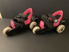 Cardiff Skate Co. Roller Skate Size Youth Cruiser Pink and Black