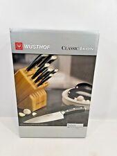 WUSTHOF Classic Ikon 7 Piece Knife Block Set Germany 8347 NEW