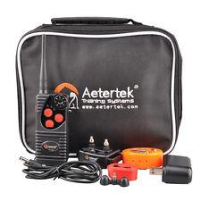 AETERTEK Waterproof 1- Dog 550 M Remote Control Dog Training Collar
