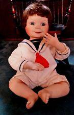 "Ashton Drake Yolanda Bello Sailor Boy ""Justin"" Porcelain replacement Doll only"