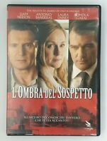 L'ombra Del Sospetto DVD Antonio Banderas Liam Neeson Film Cinema Video Movie