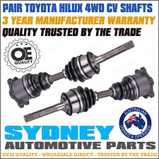 OEM QUALITY LH+RH FRONT CV JOINT DRIVE SHAFT TOYOTA SURF HILUX 4RUNNER IFS 88-04