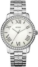 NEW Guess U0329L1 Crystal Accented Stainless Steel Women's Fashion Watch $110