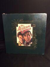 The African Queen Laserdisc Box Set Book Script Lithos Bogart New Sealed