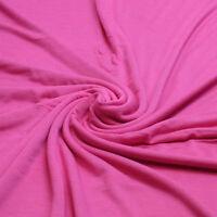 Plain Cotton Elastane Jersey Stretch Fabric Per Meter 160 cm wide - 200 gsm